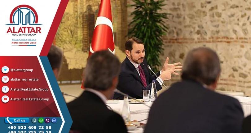 وزير الخزانة والمالية التركي يلتقى بمدراء تنفيذيين لشركات عالمية