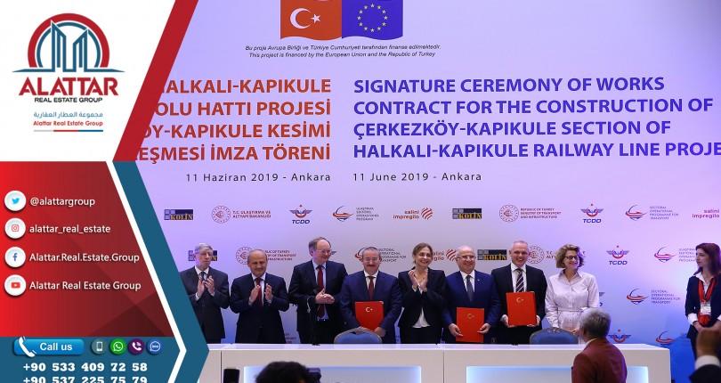 تمويل أوروبي لمشروع قطار كبير يربط إسطنبول ببلغاريا
