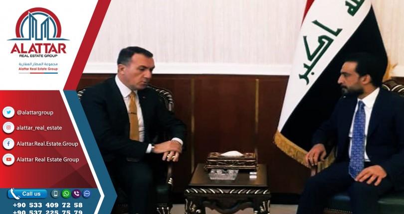 السفير التركي في بغداد يلتقي رئيس مجلس النواب العراقي