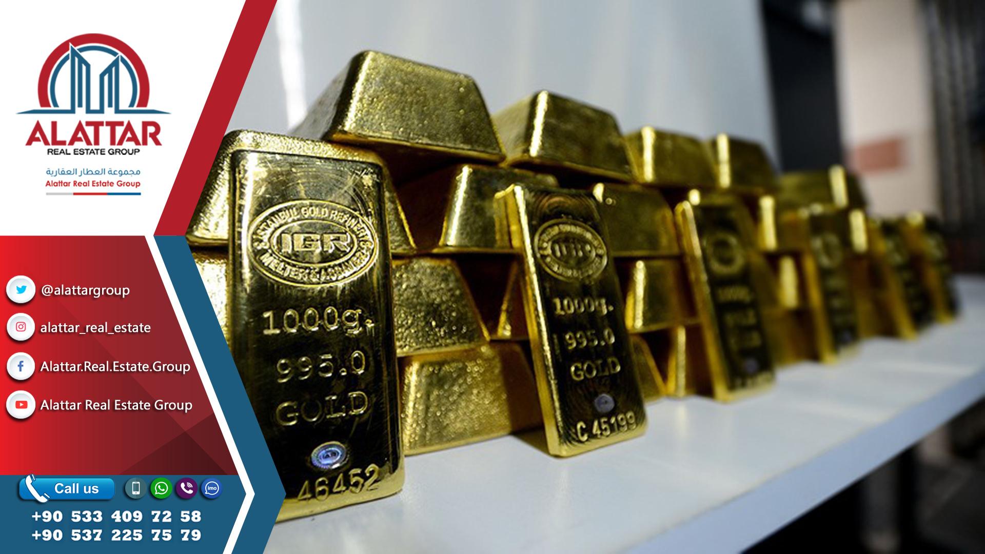 تركيا وروسيا والصين في صدارة قائمة مشتري الذهب بالعالم