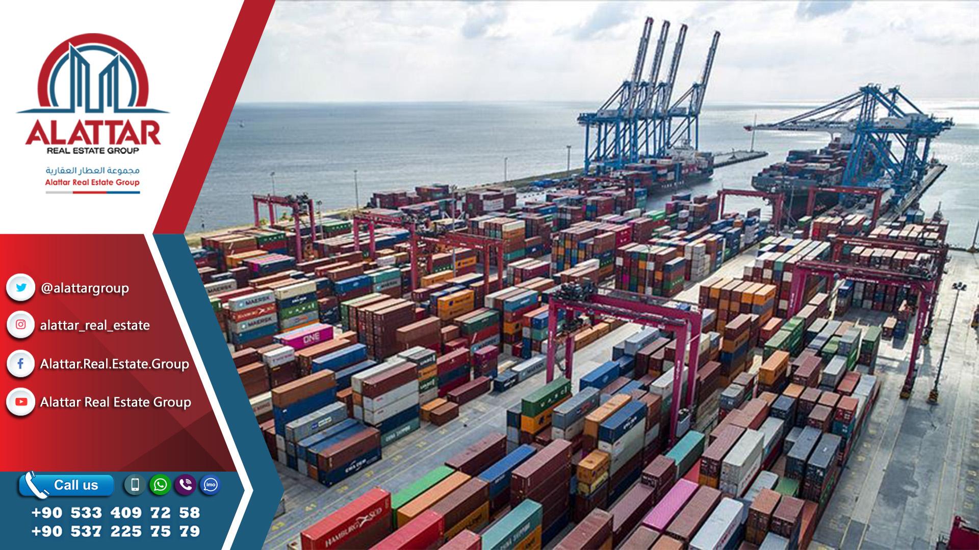 16 مليار دولار حجم التبادل التجاري بين تركيا والعراق خلال 2019