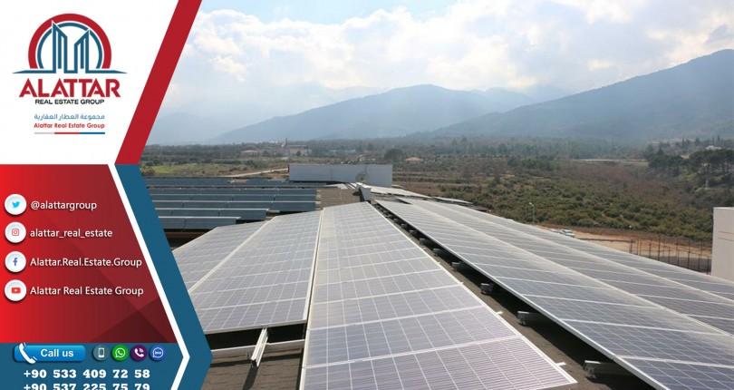 تركيا توفر 200 مليون دولار سنوياً من تكاليف الطاقة بفضل الألواح الشمسية
